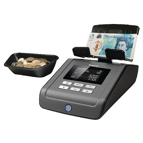 Safescan Coin and Banknote Counter 6165 131-0573