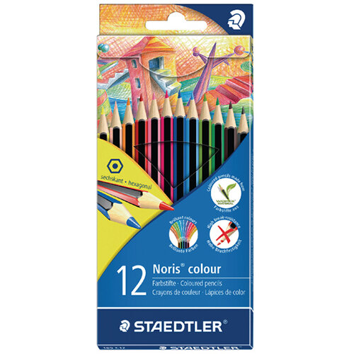 Staedtler Noris Colour Colouring Pencils Pack of 120 185 C12