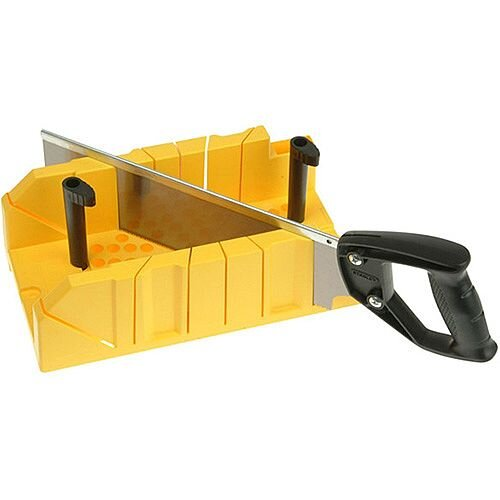 Stanley Clamping Mitre Fine Tooth Box &Saw