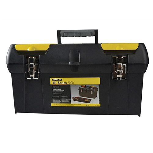 Stanley series 2 19inches inches Plastic Tool Box w/ Tray