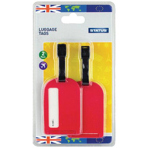 Status Travel Luggage Tags Pack of 20 SLUGGAGETAG2PK10
