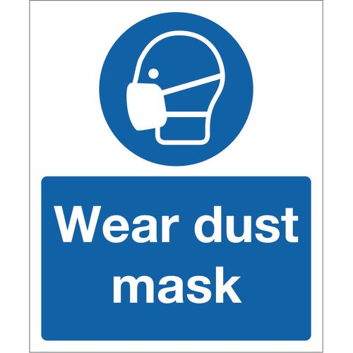 Sign Wear Dust Masks 250x300 Aluminium