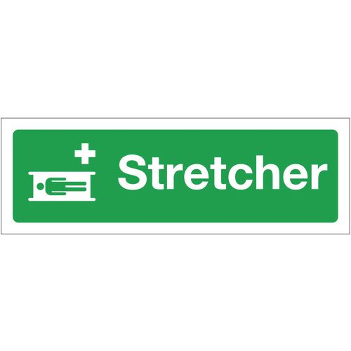 Sign Stretcher 600x200 Rigid Plastic