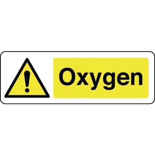Sign Oxygen 300x100 Rigid Plastic