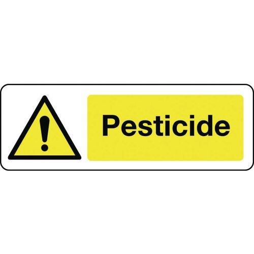 Sign Pesticide 300x100 Rigid Plastic