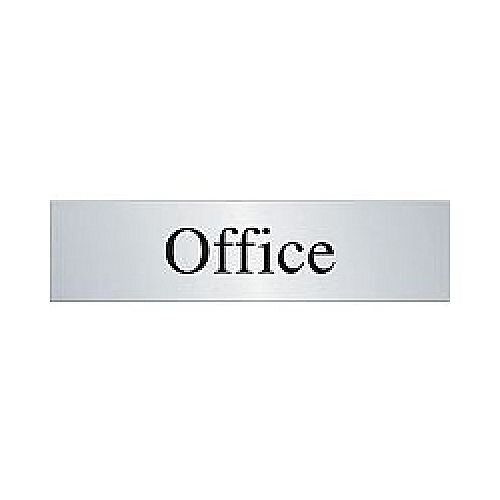 Prestige Office Sign Stainless Steel Pack 1