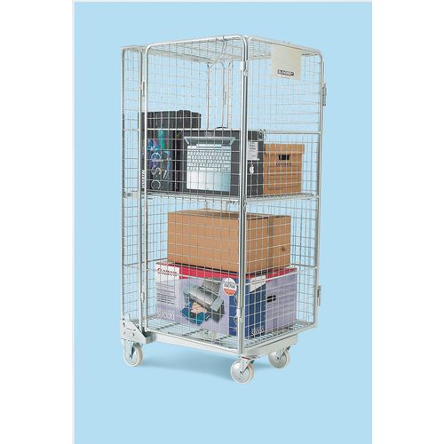 Roll Container Nestable 'A' Frame Economy Security