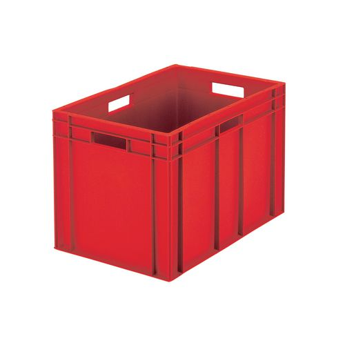 Containers Plastic -Stacking Colour Red 33L