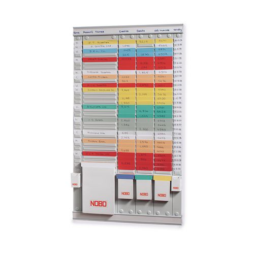 Panel Steel T-Card System Size 2 54 Slot H940Xw64