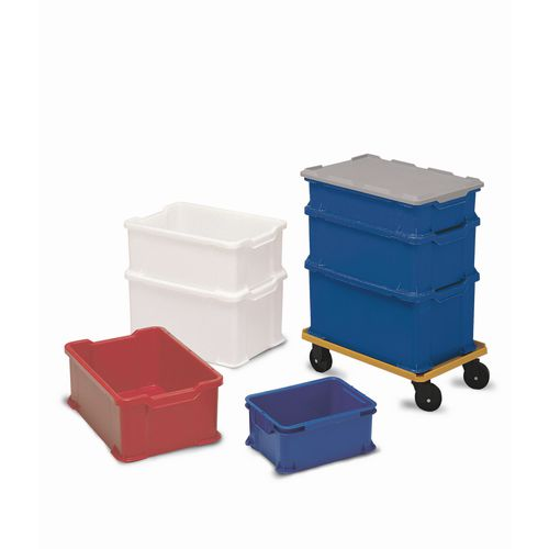 Container Universal Stacking 40 Litre Blue