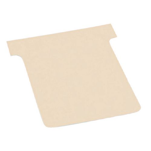 T-Cards  126x77mm Size 3 Pack Of 500 Buff