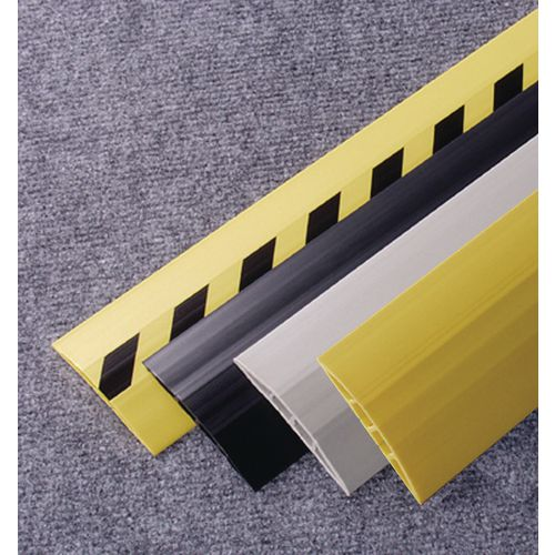 Cable Protector Pvc 3M Length Width:75mm Black/Yellow