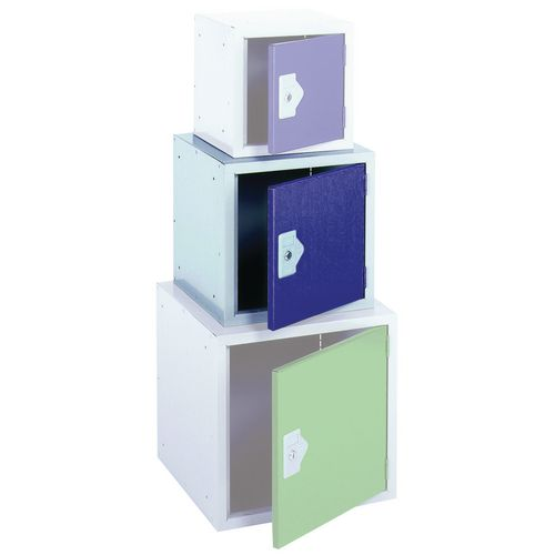 "Locker 15"" Sq Cube-Blue Door 381x381x381 Plain"