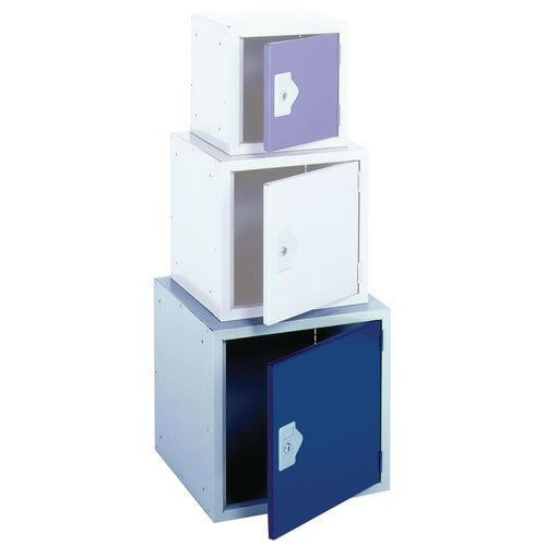 "Locker 18"" Cube Blue Door 457x457x457 Plain"