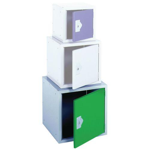 "Locker 18"" Cube Green Door 457x457x457 Plain"