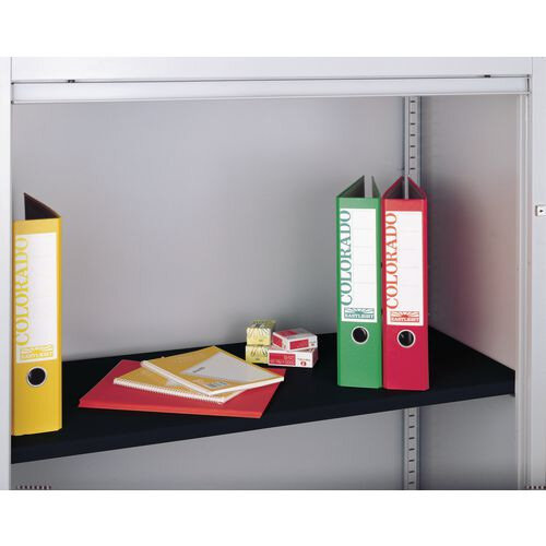 Shelf Standard To Suit Bisley Side Opening Tambour Cupboard Black