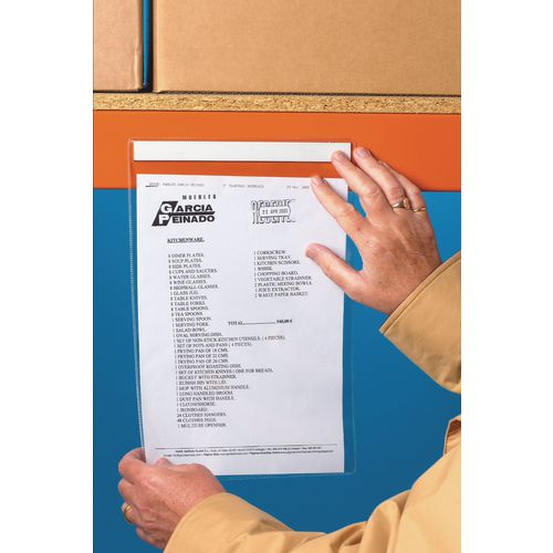 Magnetic Document A4 Vertical Pocket Pack Of 10
