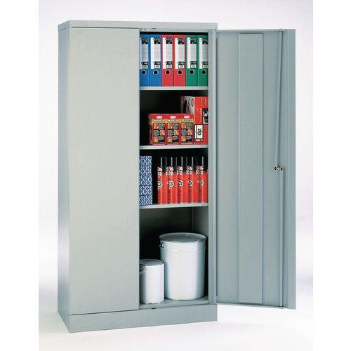 Office Cupboard 1820mm Highx915mm Wide Dark Grey Body &Doors