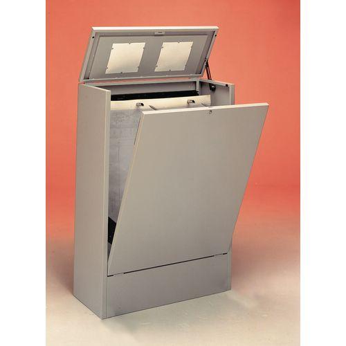 Cabinet A0 Vertical Planfile 4 Prong Standard Light Grey