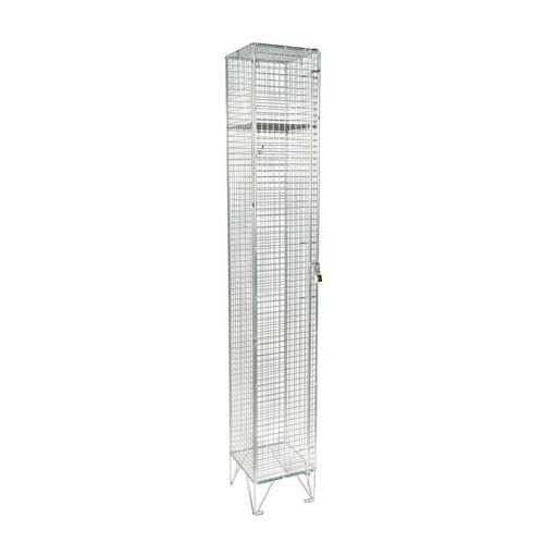 Wire Mesh Locker 1 Door Individual D:457mm