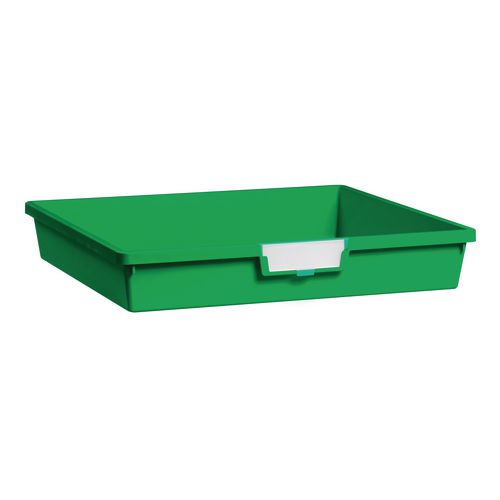 Tray  A3 Shallow Green 77x469x425mm-Pack Of 10