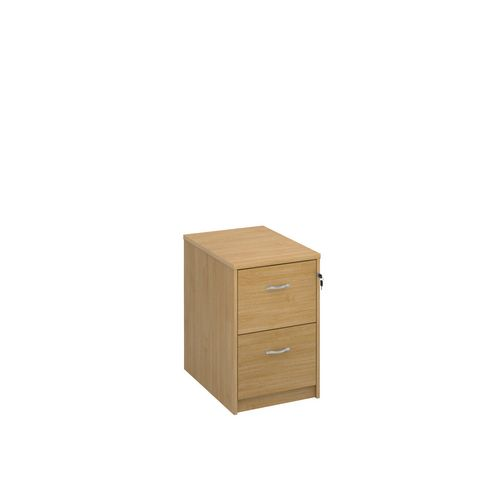 Filing Cabinet 2 Drawer Oak Classic Furniture