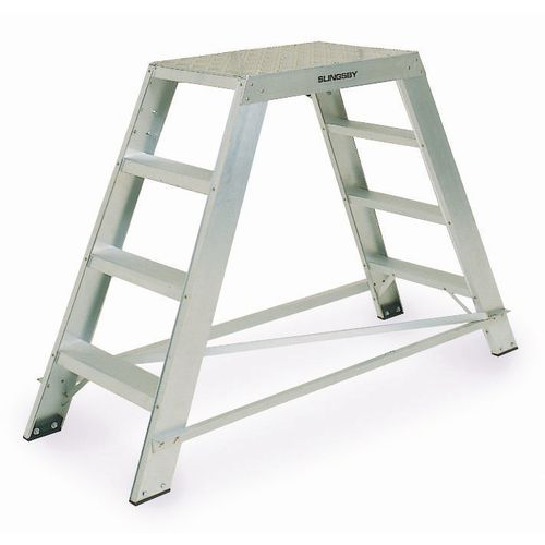 Steps Aluminium Platform Double Sided H/D Number of Treads Inc. Platform: 2