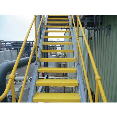Flooring Anti-Slip Treads Stair Tread 595X195X40mm Yw