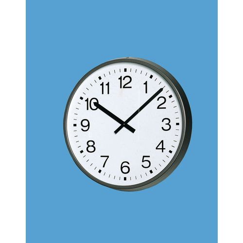 "Clock Radio Controlled 17.25"" Arabic Dial"