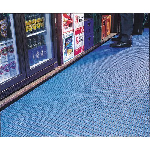 Matting Cushion Tread Pvc 91Cms Blue (Floorline)