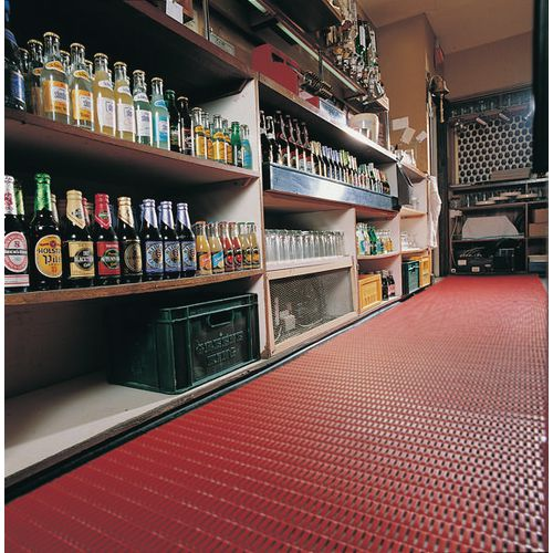 Matting Cushion Tread Pvc 91Cms Red (Floorline)