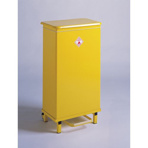 Sackholder Removable Body 605X270X285mm Colour-Yellow