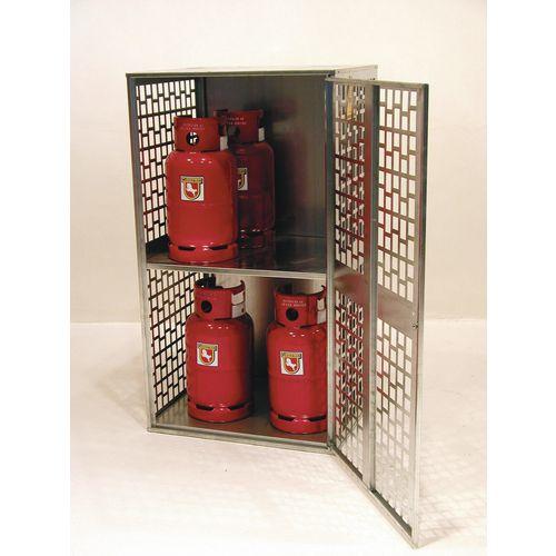 Gas Bottle Depot Ventilated 840x690x1475