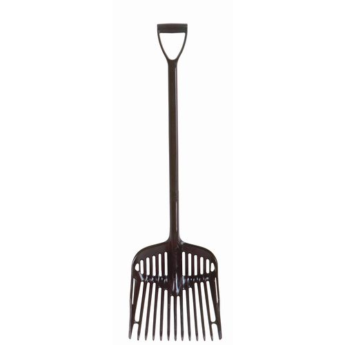 Economy Black Utility Fork D Grip Each