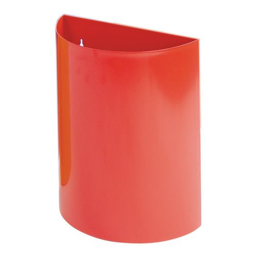 Wall Bin Red X 2 Hxwxd 475X395X190
