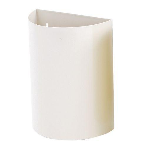 Wall Bin With Liner White X 2 Hxwxd 475X395X190