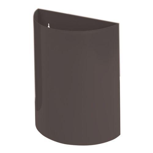 Wall Bin With Liner Black X 2 Hxwxd 475X395X190