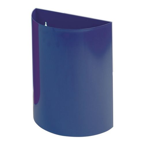 Wall Bin With Liner Blue X 2 Hxwxd 475X395X190