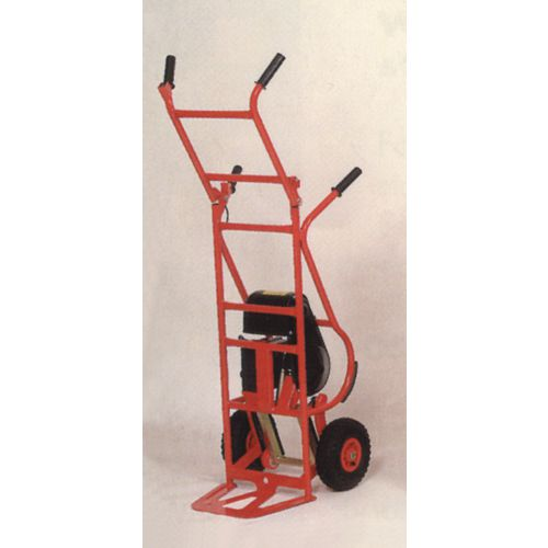Standard Powered Duty Stair Climber 190Kg Capacity - Extendable handle for tall loads