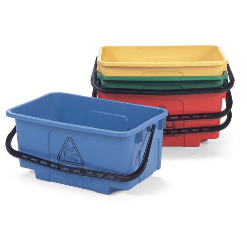 Mopping Bucket 30L Hi-Bak C/W Castors Green