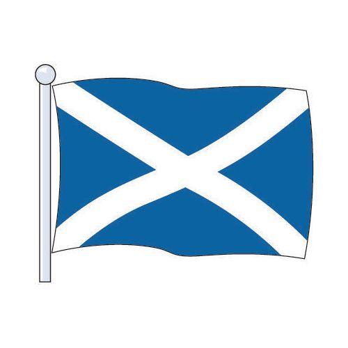 Flag National St.Andrew'S Cross Size Med. 2.29Mx1.14M