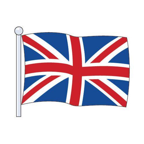 Flag National Union Jack Printed Size Med 2.29Mx1.14M
