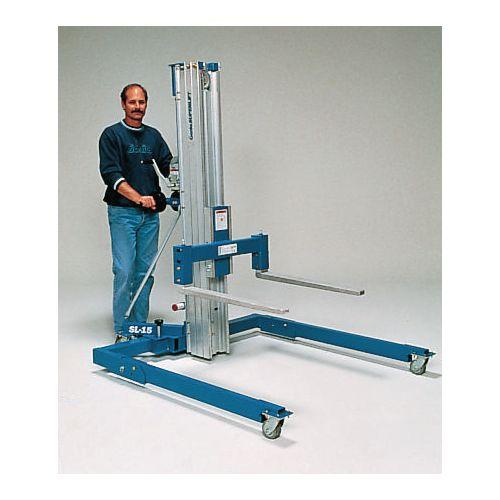Superlift With Straddle Base Compact Work Handler, Straddle Forks - Capacity 363Kg