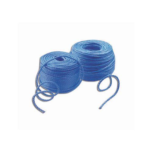 Rope Polypropylene Dia.8mm 12x20M Coils Blue