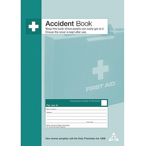 Accident Report Form Book