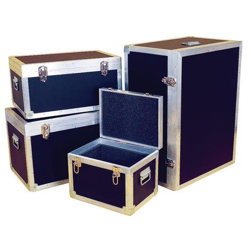 Case Transit Pvc &Plywood Foam Lined Ext. H410xL610xW410mm