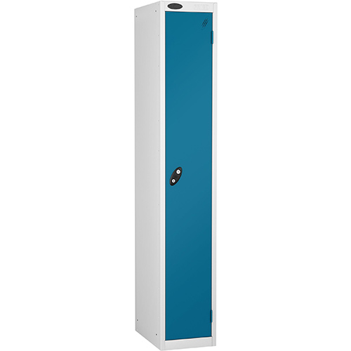 1 Door Locker D305mm White Body &Blue Door