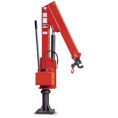 Socket Mounted Swing Jib Crane 1000Kg Capacity