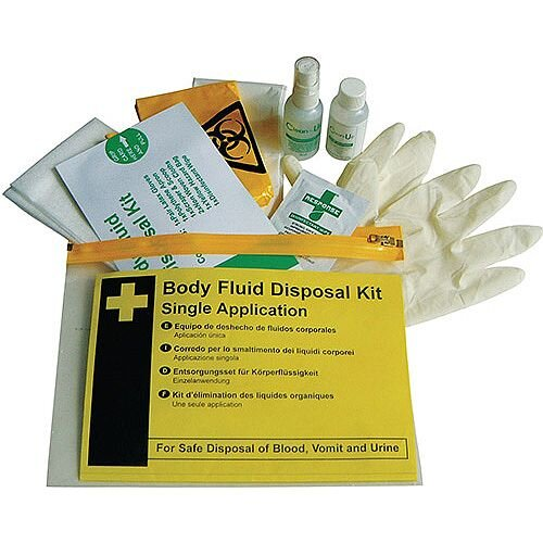 Body Fluid Disposal Kit Single Use