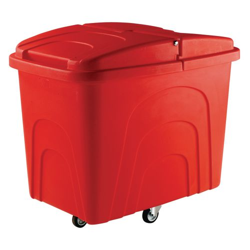 Truck Zinc Base Diamond Wheeling. Red With Lid